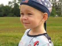 Il ritratto del ragazzo Fotografie Stock Libere da Diritti