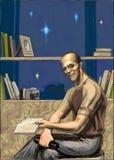 Il ritratto di Jason Statham illustrazione vettoriale