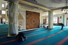 Il rituale della moschea di Tunahan di culto ha concentrato nella preghiera, Costantinopoli, T Fotografia Stock Libera da Diritti