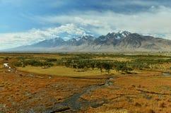Il River Valley in autunno immagini stock