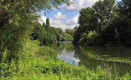Il RiverThames in Inghilterra Immagine Stock
