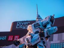 Il robot è un favorito dei bambini e di un punto di riferimento del Giappone fotografia stock libera da diritti