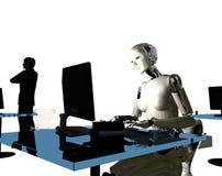 Il robot Fotografia Stock Libera da Diritti