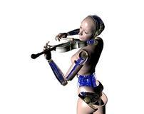 Il robot Fotografie Stock