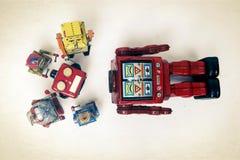 Il robot di Headles ha bisogno della riparazione Fotografia Stock