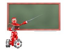 Il robot rosso Fotografia Stock