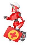 Il robot rosso Immagine Stock Libera da Diritti
