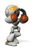 Il robot sveglio deve sostenere qualcuno Fotografie Stock Libere da Diritti