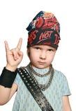 Il rock-and-roll è vivo! Immagini Stock Libere da Diritti