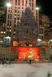 Il Rockefeller NYC concentrare Fotografia Stock