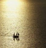 Il romance della navigazione Fotografie Stock
