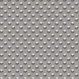 Il rombo senza cuciture di struttura del metallo modella 2 Fotografia Stock