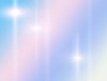 Il rosa ed il fondo astratto blu con i raggi star Immagini Stock