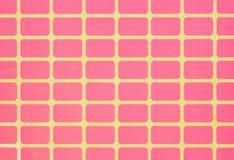 Il rosa quadra il fondo Fotografia Stock Libera da Diritti