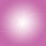 Il rosa rays il fondo Fotografia Stock Libera da Diritti