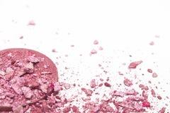 Il rosa rotto arrossisce su fondo bianco Fotografia Stock Libera da Diritti