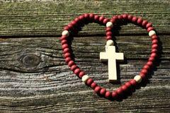 Il rosario Immagini Stock Libere da Diritti