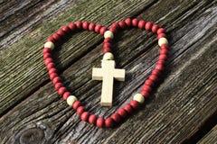 Il rosario Fotografie Stock
