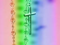 Il rosario del rosario Fotografia Stock Libera da Diritti