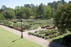 Il roseto ha visto dal Garden Center in Tyler Fotografia Stock Libera da Diritti