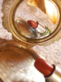 Il rossetto Fotografia Stock