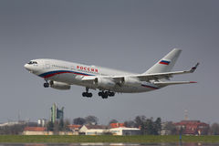 Il-96 Rossiya Royalty Free Stock Image
