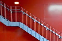 Il rosso Fotografie Stock