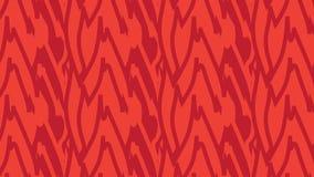 Il rosso astratto moderno semplice lascia il modello tribale Immagine Stock Libera da Diritti
