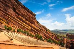 Il rosso oscilla l'anfiteatro Immagine Stock