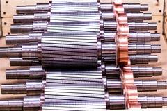 Il rotore del motore elettrico delle azione Fotografia Stock Libera da Diritti