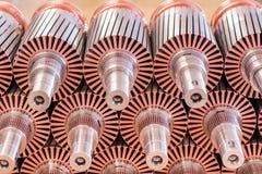 Il rotore del motore elettrico delle azione Immagini Stock