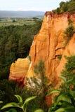 Il Roussillon immagine stock