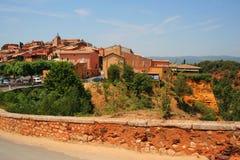 Il Roussillon, Provenza, Francia Fotografie Stock