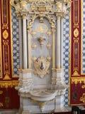 Il rubinetto degli appartamenti dell'harem del museo del palazzo di Topkapi immagine stock