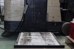 Il rullo per il carrello elevatore elettrico della batteria di sostegno Fotografia Stock Libera da Diritti