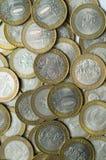 Il Russo conia 10 rubli Fotografia Stock Libera da Diritti
