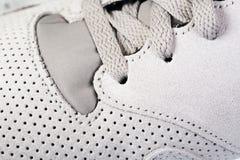 Il ` s degli uomini mette in mostra le scarpe Immagine Stock Libera da Diritti