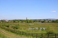 Il ` s di Freeman riunisce la riserva naturale Lancaster, Inghilterra immagine stock