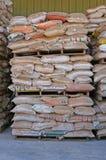 Il sacchetto di sabbia Immagini Stock