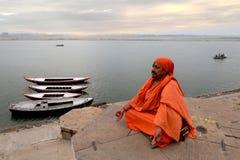 Il Sadhu Fotografie Stock