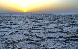 Il Sahara Immagini Stock