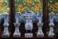Il sala della Tailandia pattaya viharasien il tempiale Immagini Stock