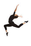 Il salto della ballerina Immagini Stock