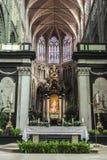 Il san Bavo Cathedral a Gand, Belgio Immagini Stock Libere da Diritti