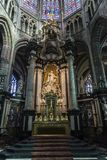 Il san Bavo Cathedral a Gand, Belgio fotografia stock