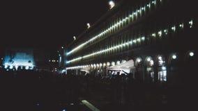 Il san di Venezia segna il quadrato Immagine Stock