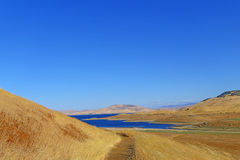 Il San Luis Reservoir Immagine Stock Libera da Diritti