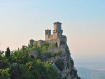 Il San Marino - castello di Guaita Fotografia Stock