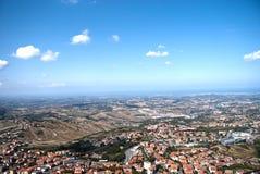 Il San Marino e Monte Titano Immagine Stock Libera da Diritti