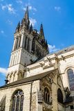 Il san Maurice Cathedral di irrita, la Francia Fotografia Stock